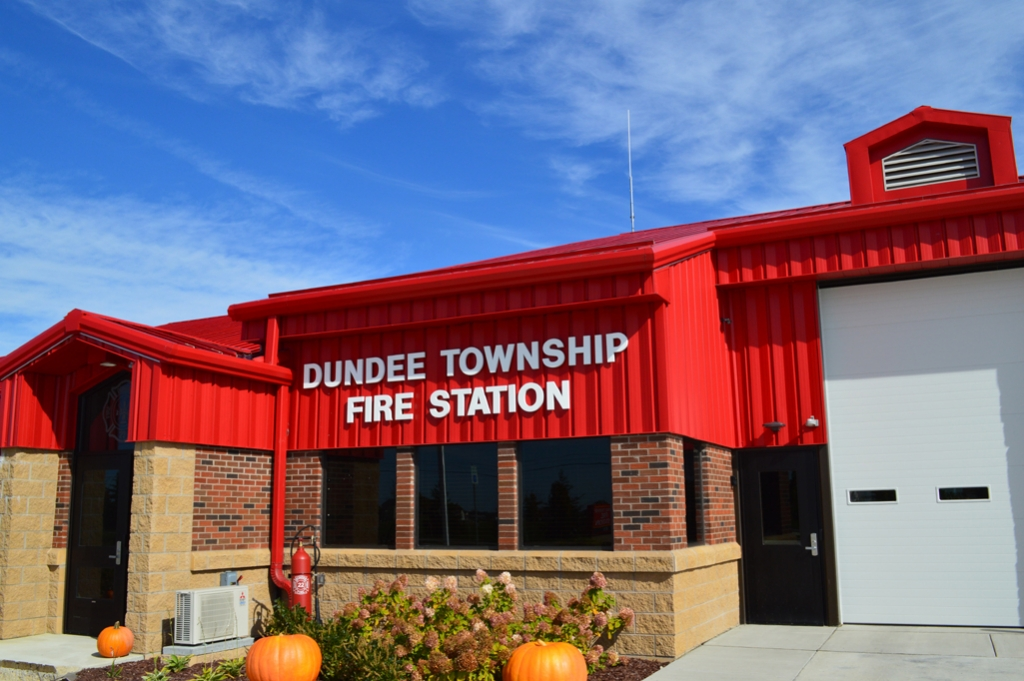 Dundee Fire Station Front Entry