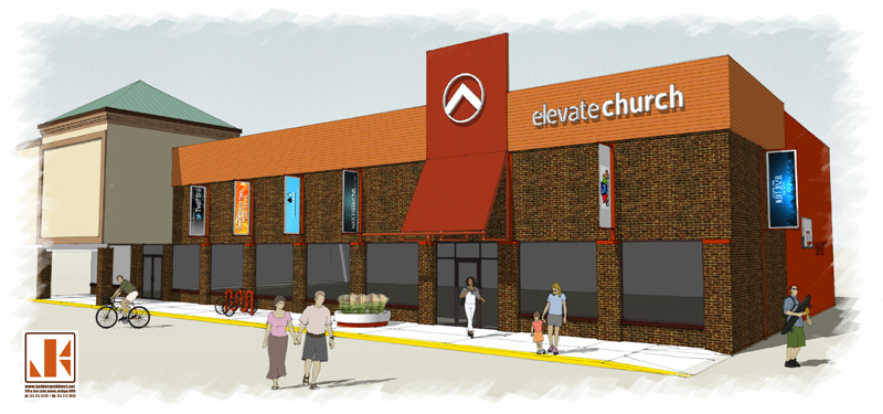 Elevate Church Concept