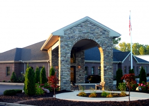 Merkel Funeral Home Main Entry