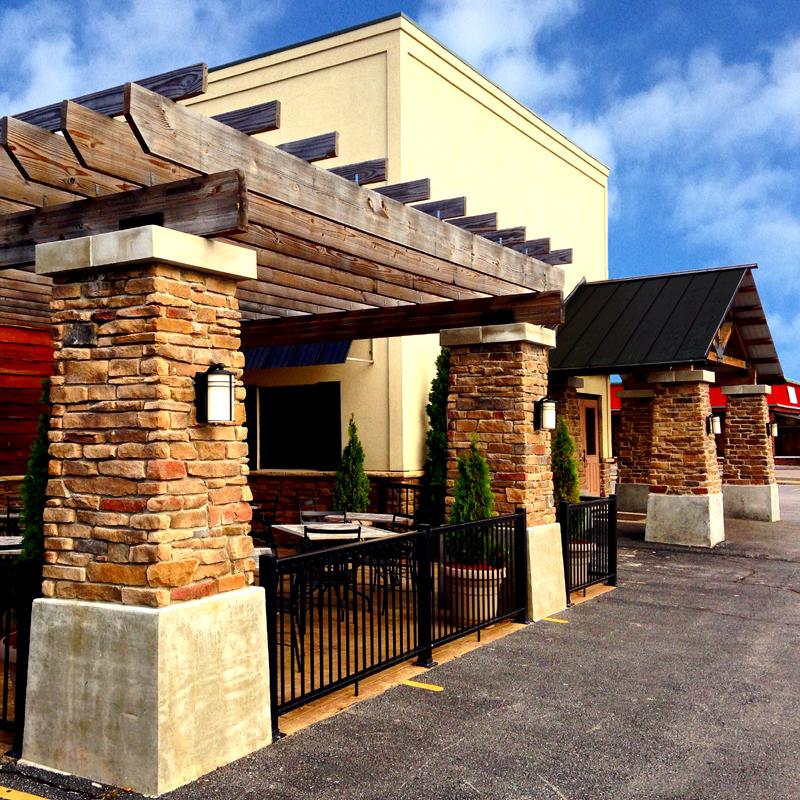 Michigan Bar and Grill Patio