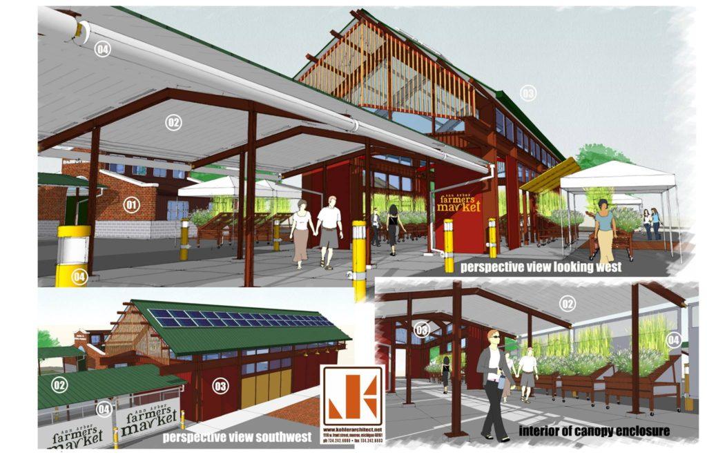 Ann Arbor Farmers Market Kohler Architecture Inc