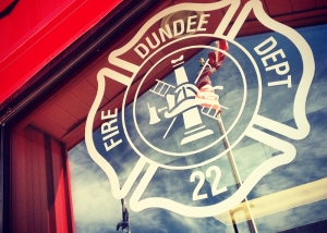Dundee Fire Station Department Logo